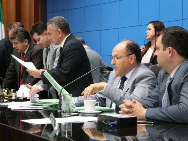 Deputados analisaram veto nesta terça-feira (Foto: Victor Chileno/ALMS)