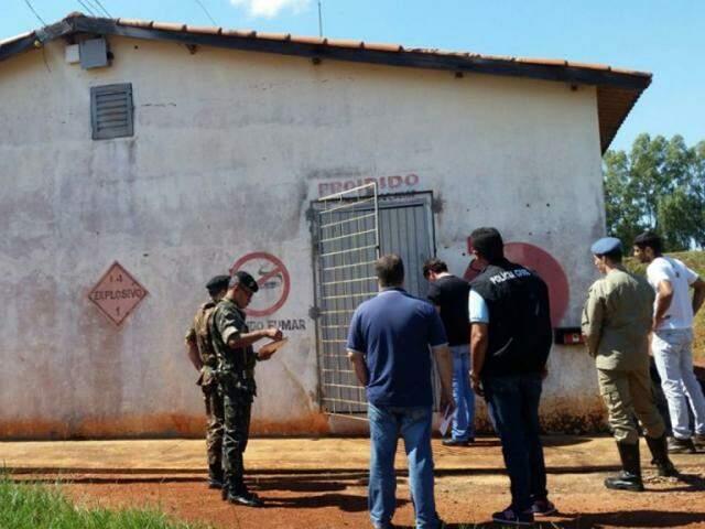 Um dos locais vistoriados pelos agentes (Foto:  Exército Brasileiro/Divulgação)
