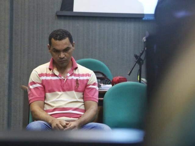 Gilson Ferreira da Silva foi condenado a 10 anos e oito meses de prisão (Foto: Henrique Kawaminami)
