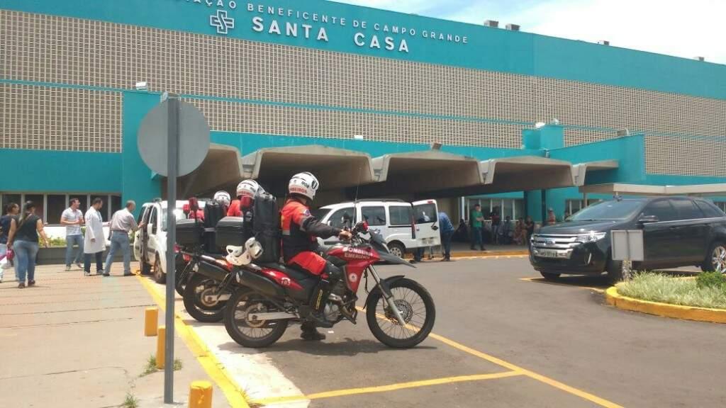 Essa foi a segunda captações de órgãos da semana no hospital (Foto: Geisy Garnes/arquivo)