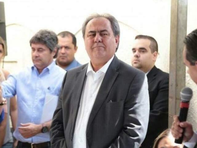 Secretário de Governo, Antônio Lacerda, no dia da posse oficial, em janeiro de 2017 (Foto: Arquivo)