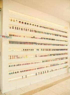A Esmalteria oferece as melhores opções de esmaltes. (Foto Divulgação)