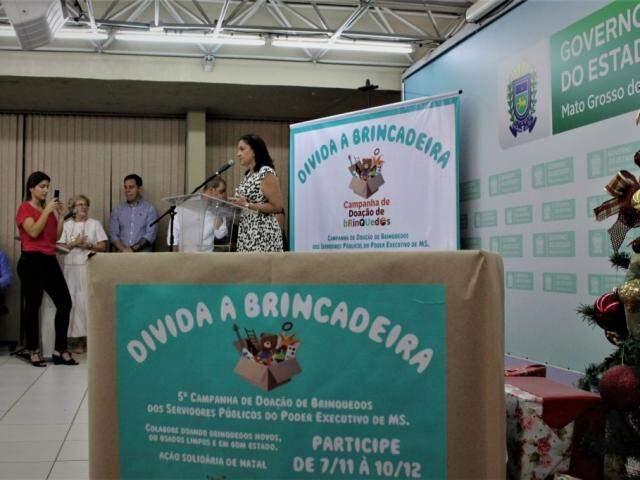 Lançamento da campanha na Governadoria (Foto: Chico Ribeiro - Assessoria)
