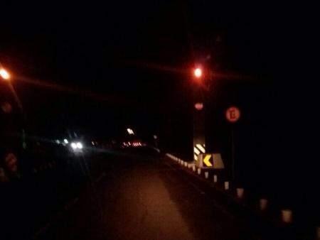 Escuridão em trecho do Parque dos Poderes ( Foto: Direto das ruas)