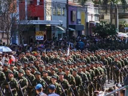 Desfile contará com 5 mil pessoas de 27 entidades civis e militares na Capital