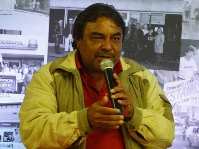 Presidente da CUT-MS Genilson Duarte (Foto: Divulgação CUT-MS/Arquivo)