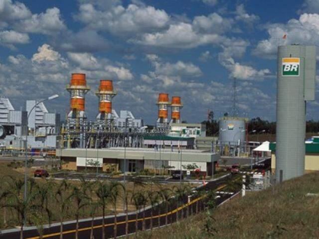 Usina Luiz Carlos Prestes, em Três Lagoas (Foto: Divulgação/Petrobras)