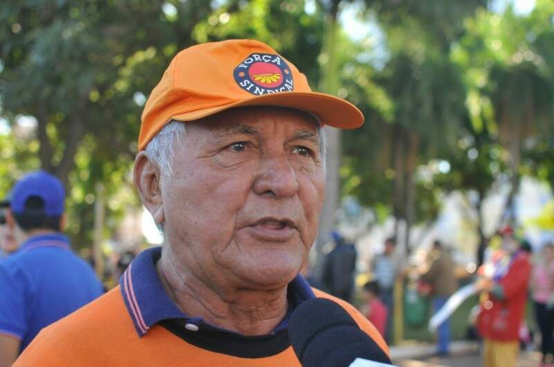 Presidente da Força Sindical, Ildemar da Costa. (Foto: Alcides Neto)