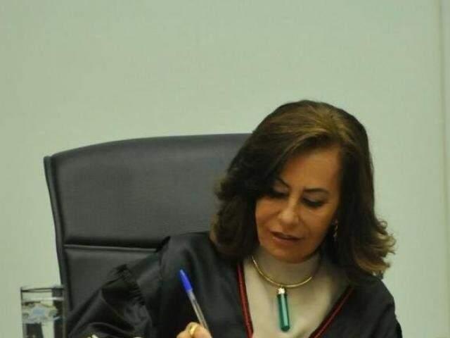 Tânia Borges foi afastada do TJMS e do TRE por suspeita de usar o cargo e influência para liberar o filho, preso por tráfico. (Foto: Arquivo)