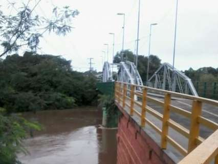 Chuva forte continua a atingir cidades e nível dos rios volta a subir