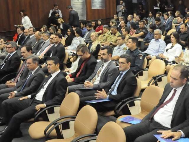 Seminário é realizado até esta sexta-feira no auditório da Justiça Federal em Campo Grande