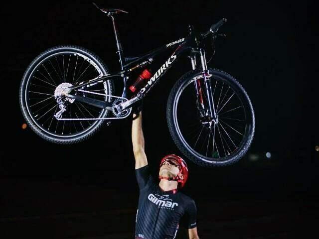 Josimar colocou MS pela primeira vez na lista dos campeões de Mountain Bike XCM, máster B2. (Foto: Divulgação)