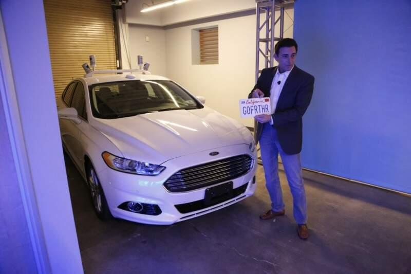 Ford inicia teste com veículo autônomo