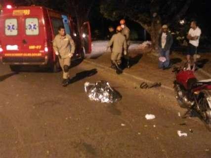 Motociclista envolvido em acidente com morte é transferido para a Capital