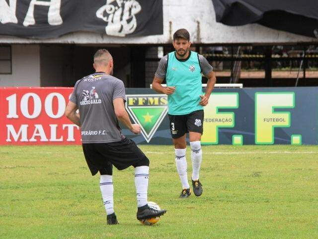 Operário fez último treino no palco da decisão (Foto: Anderson Ramos/Operário FC)