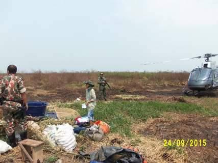 PMA faz operação preventiva área de crimes ambientais no Pantanal