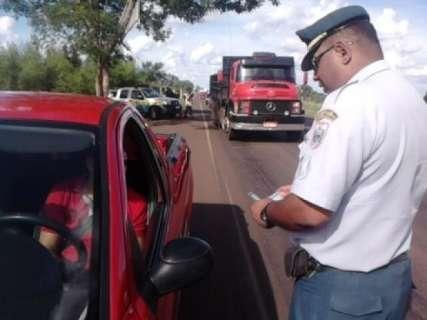 Feriadão teve queda de 45% no número de acidentes nas estradas estaduais