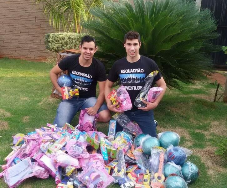 Grupo existe há 1 ano e já ajudou várias famílias carentes. (Foto: Divulgação)