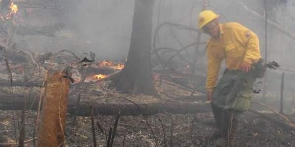 Ibama implanta brigadas de combate à incêndio nas nascentes do Taquari