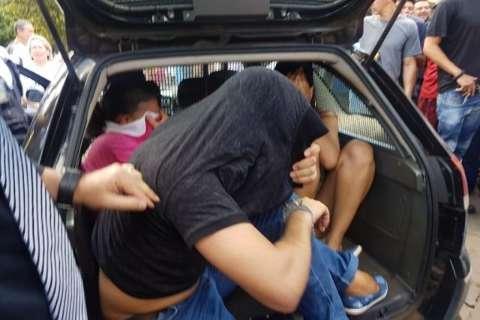 Pivôs de perseguição no Centro tentaram dar golpe de R$ 35 mil