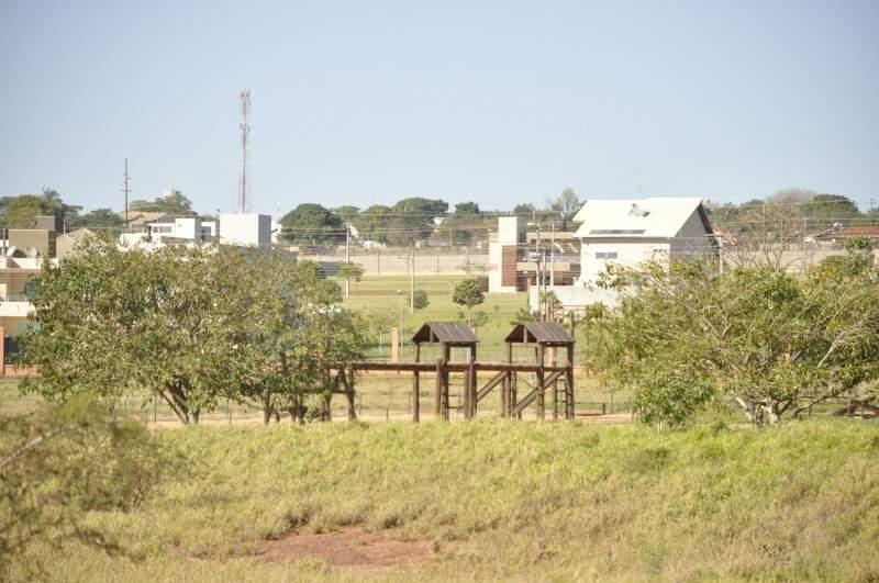 O parque está fechado há anos para o público em geral.