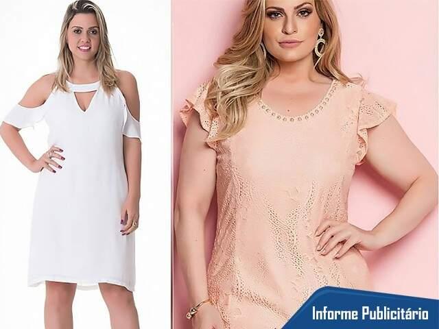 Unna Plus tem mix de peças para mulheres que vestem do 42 ao 60.