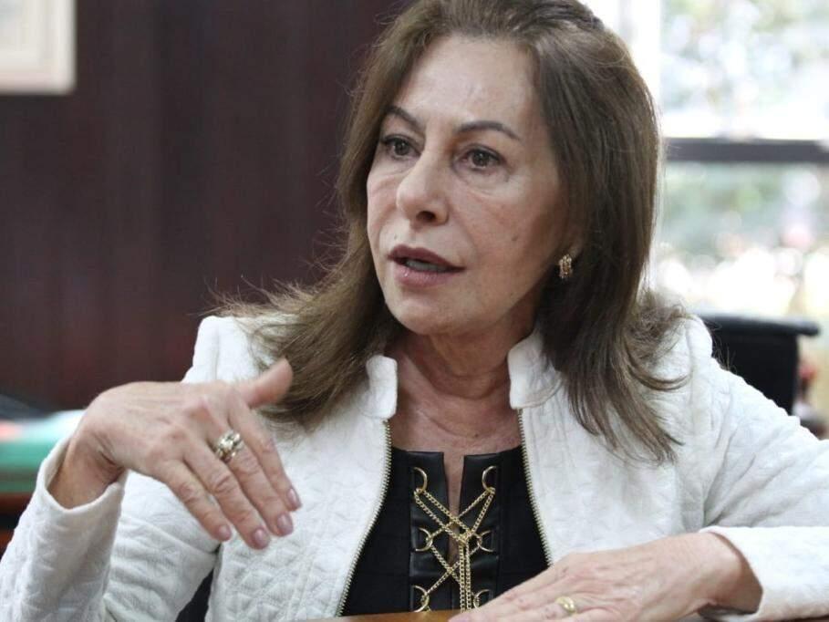 Tânia Garcia de Freitas Borges durante entrevista para o Campo Grande News (Foto: Saul Schramm/Arquivo)
