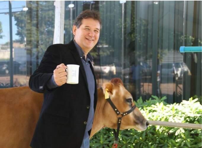 Rui Fachini, presidente do Sindicato Rural, consta na lista dos mais influentes do agronegócio (Foto: divulgação)