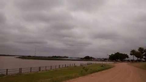 Neblina e tempo nublado diminuem sensação de calor na fronteira