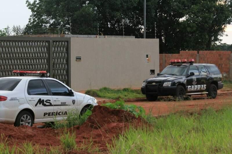 Casa ocupada pela quadrilha do Pará, onde foragido foi morto após entrar em confronto com a polícia (Fotos: Marcos Ermínio)