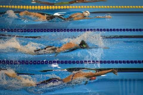 Nadador do MS é medalha de prata no revezamento 4x100 medley