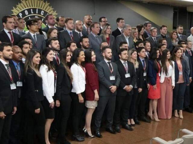 Os 72 novos delegados serão direcionados para unidades do interior. (Fotos: PCMS/Divulgação)