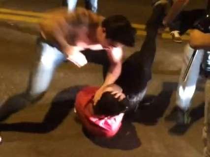 Polícia ainda espera laudo de vídeo para fechar inquérito de espancamento