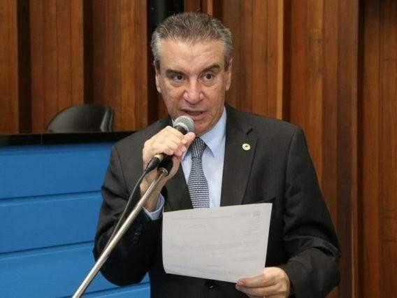 Deputado Paulo Corrêa durante sessão (Foto: ALMS/Divulgação)