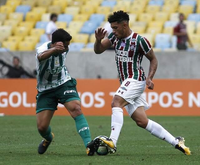 Palmeiras venceu o Fluminense, no estádio Maracanã (Foto: Nelson Perez e Lucas Merçon/FFC)