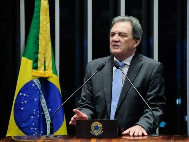 Moka defende proposta como meio de reforçar finanças do sistema prisional. (Foto: Pedro França/Agência Senado)