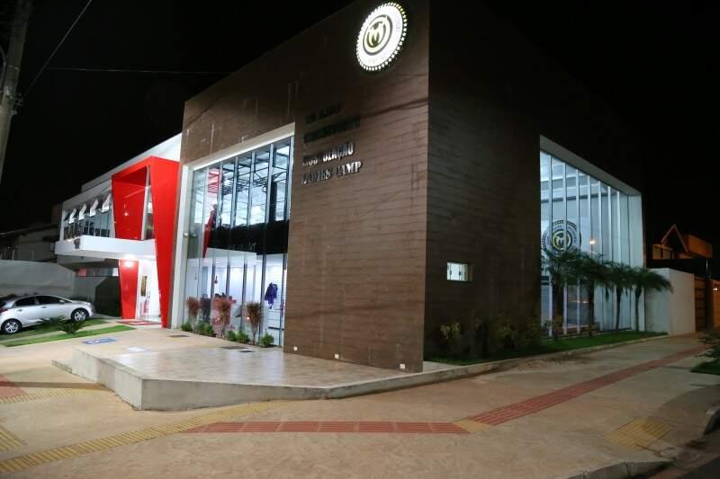Academia Team Nogueira fica na Rua Augusto Leite Figueiredo, 277, Chácara Vendas. (Foto: Alcides Neto)