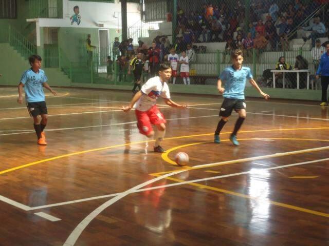 Copa Pelezinho está movimentando equipes de categoria de base do Estado (Foto: Divulgação)