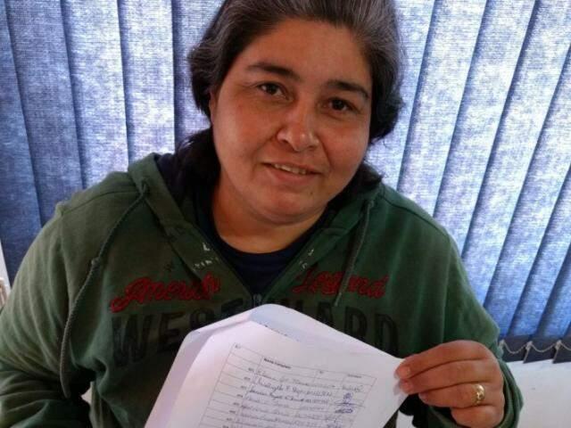 Maria, uma das idealizadoras do abaixo-assinado. (Foto: Arquivo Pessoal)