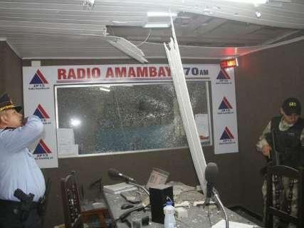 Granadas jogadas em rádio eram brasileiras, diz promotor do Paraguai