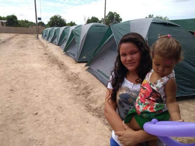 Resgatados venezuelanos no Centro de  Acolhimento da Fraternidade Sem Fronteiras. (Foto: Assessoria)