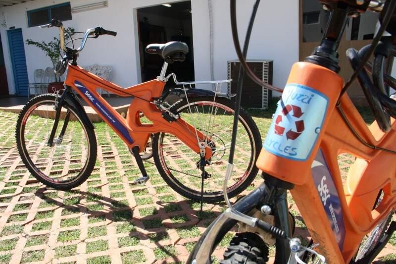 Sesc comprou 30 bicicletas que serão utilizadas em projetos de lazer (Foto: Marcos Ermínio)