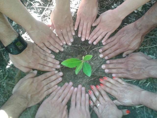 Você contribui com a natureza e deixa sua marca em Bonito. (Foto: Marcio Lima)