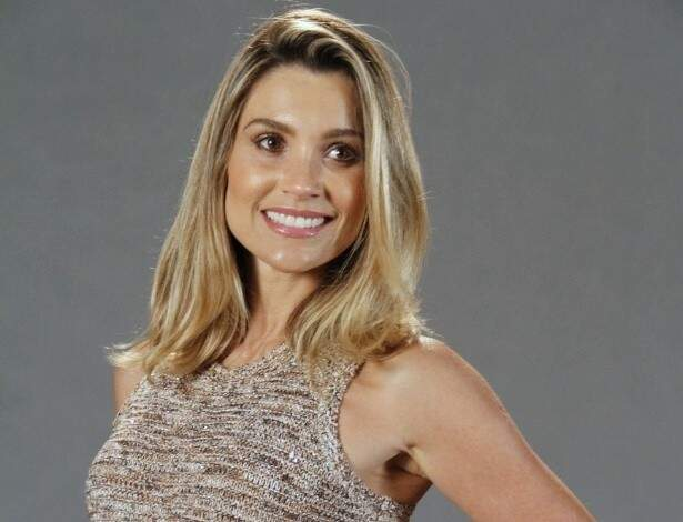 ...juntamente com Flávia Alessandra, na Globo