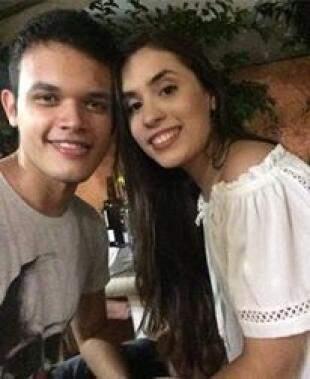 Ygor e Bruna namoram desde dezembro. (foto: Acervo Pessoal)