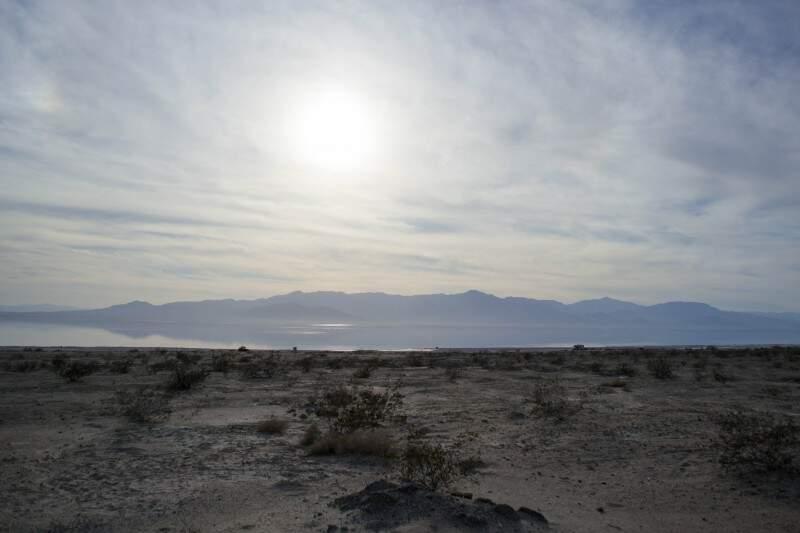 Retrato de um lugar onde o mar de sal tomou conta do deserto.(Foto: De Repente Califórnia)