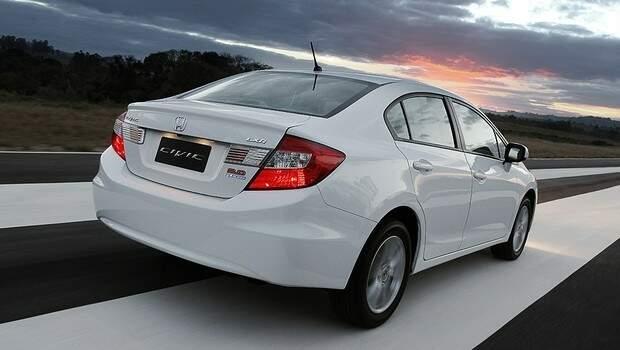 Chega em fevereiro o Honda Civic com novo motor 2.0