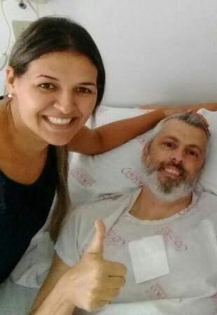 E apesar das dores, nada tira o sorriso de Tiago. (Foto: Arquivo Pessoal)