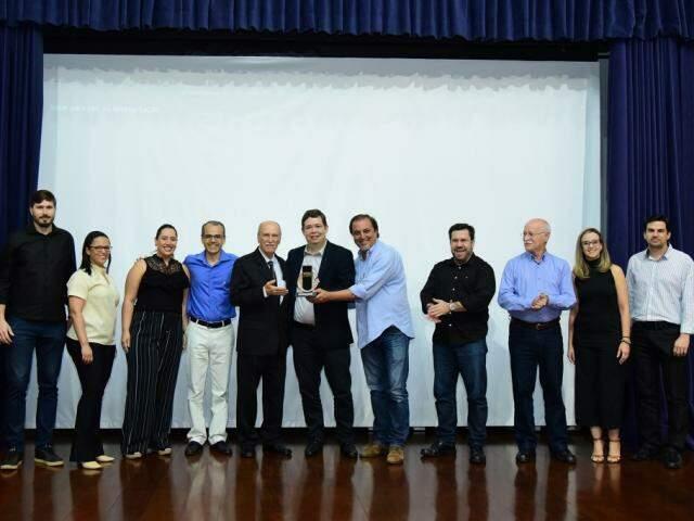 Premiação ocorreu nesta sexta-feira pela manhã no auditório do Sebra (Foto: Divulgação)