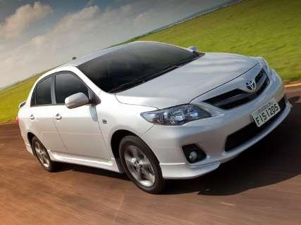 Toyota convoca proprietários do modelo Corolla XRS para Recall